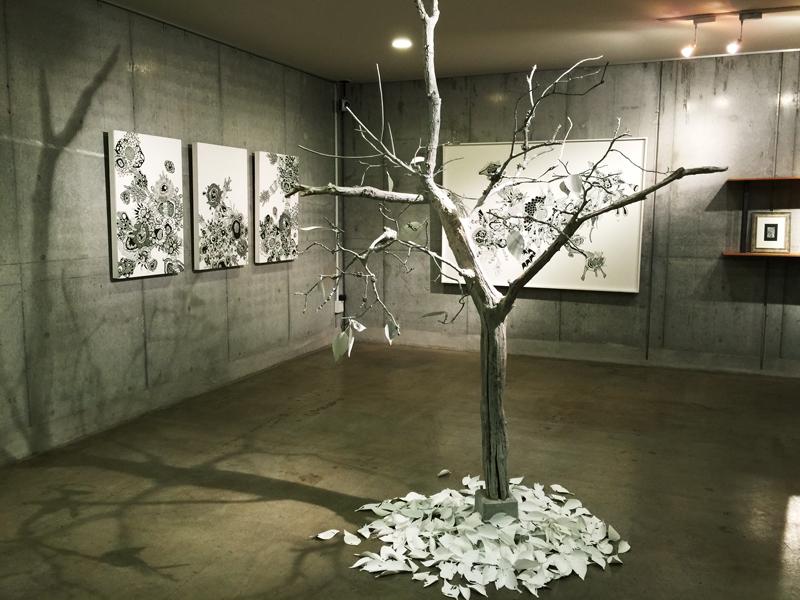 OCMA vol.002 川島一恵 「sacred tree」展 展覧会記録_f0191870_12181469.jpg