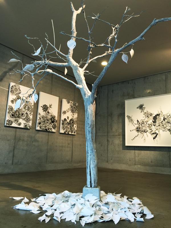OCMA vol.002 川島一恵 「sacred tree」展 展覧会記録_f0191870_12562699.jpg