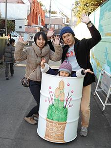 ドラムカン初詣で☆_d0139575_22051067.jpg