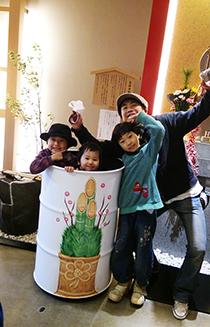 ドラムカン初詣で☆_d0139575_22071526.jpg