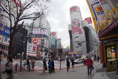 1月7日(水)の渋谷109前交差点_b0056983_12203078.jpg