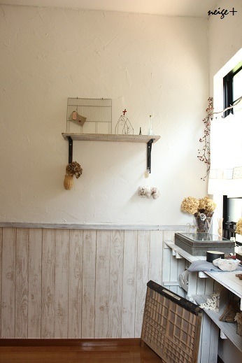憧れのパイン材床と漆喰壁。我が家のセルフリノベーションまとめ_f0023333_12060679.jpg