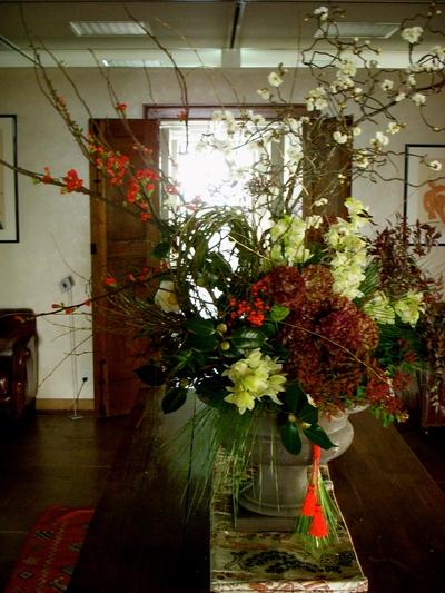 年始のお花。。。_a0229658_7594219.jpg