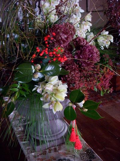 年始のお花。。。_a0229658_8175413.jpg