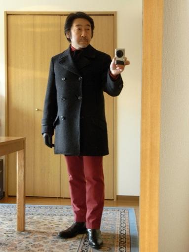 ~未年だよ~ニッポンのツィード~いわてのホームスパン~大人のピーコート~ 編_c0177259_17424775.jpg