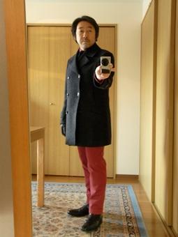 ~未年だよ~ニッポンのツィード~いわてのホームスパン~大人のピーコート~ 編_c0177259_1744878.jpg