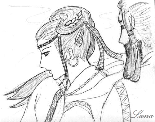 七支刀(3)230年説 坩堝の仕上がりを願う女人の髪飾りをデザイン化したという_c0222861_21314377.jpg