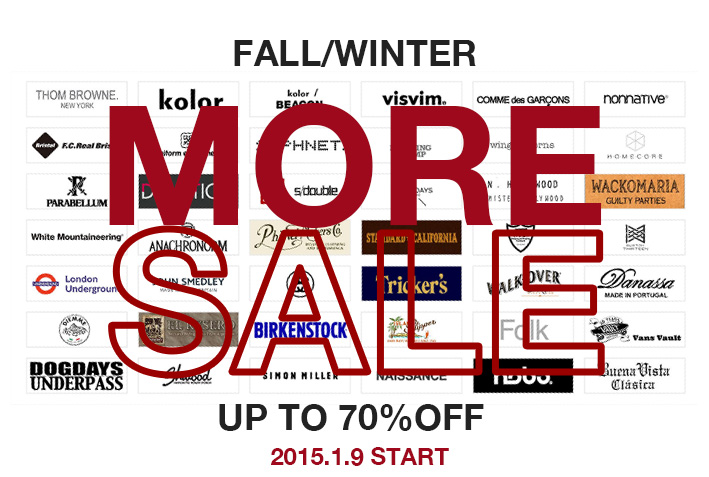 1/9(FRI) - MORE SALE START!!!_f0020773_19593810.jpg
