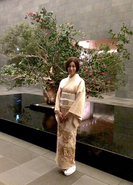 Hotel「アマン東京」でニューイャーディナーを頂きます♪♪♪新春の装いはお着物で!_a0138976_20471356.jpg