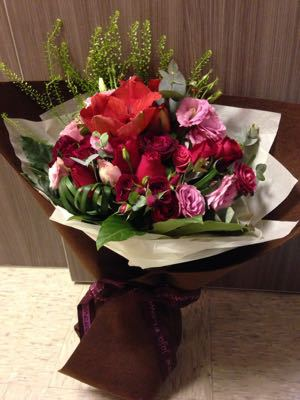 新春の花束☆_a0145984_347149.jpg