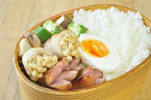 えのき豚弁当_b0171098_935127.jpg