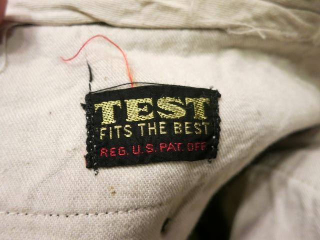 1月10日(土)入荷!40'S TEST 杢ストライプ コットンパンツ!_c0144020_20482960.jpg