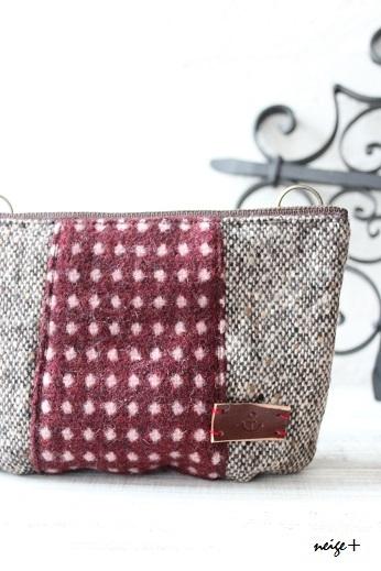 仕上がりが1番綺麗な内布付ファスナーポーチの作り方(マロン巾着アレンジ)_f0023333_10480451.jpg
