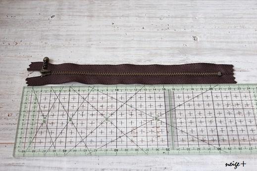 仕上がりが1番綺麗な内布付ファスナーポーチの作り方(マロン巾着アレンジ)_f0023333_10484703.jpg