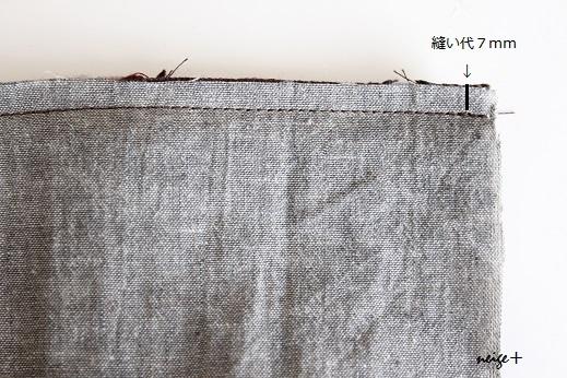 仕上がりが1番綺麗な内布付ファスナーポーチの作り方(マロン巾着アレンジ)_f0023333_11073062.jpg