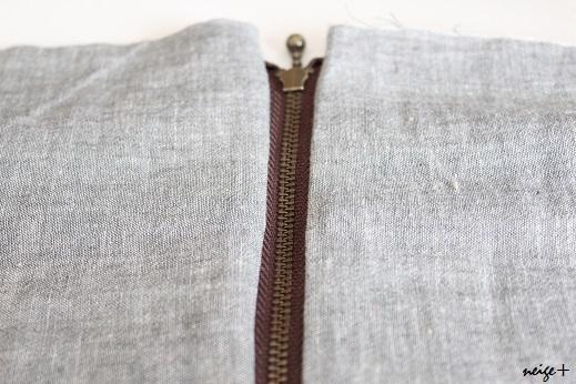 仕上がりが1番綺麗な内布付ファスナーポーチの作り方(マロン巾着アレンジ)_f0023333_11092802.jpg