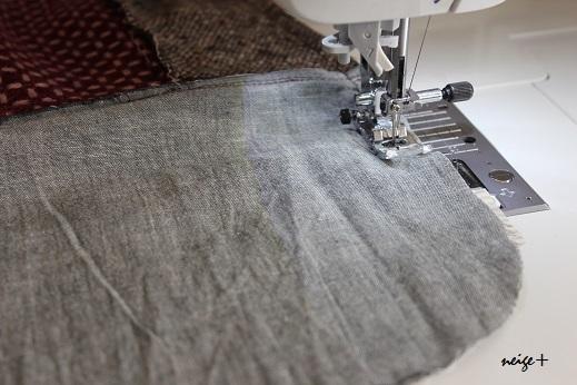 仕上がりが1番綺麗な内布付ファスナーポーチの作り方(マロン巾着アレンジ)_f0023333_11170141.jpg