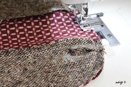 仕上がりが1番綺麗な内布付ファスナーポーチの作り方(マロン巾着アレンジ)_f0023333_11170995.jpg