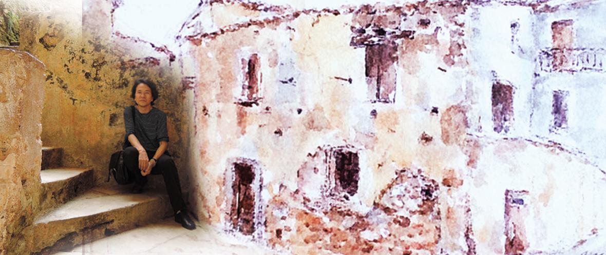 Calabria: portali, finestre, archi e luoghi mistici ~五感で感じるカラブリア~ 講演+水彩画展示_a0281139_1584132.jpg