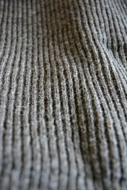 Swedish navy 40\'s v-neck knit dead stock_f0226051_15305088.jpg