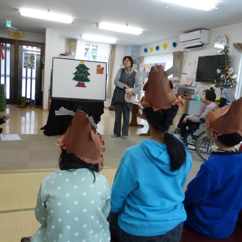 「児童デイサービスあおぞら」クリスマス会の開催_f0204059_16155510.jpg