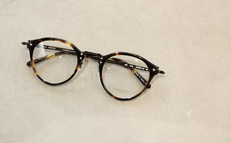 「OLIVER PEOPLES OP-505 Limited Edition 雅」_f0208675_1850565.jpg