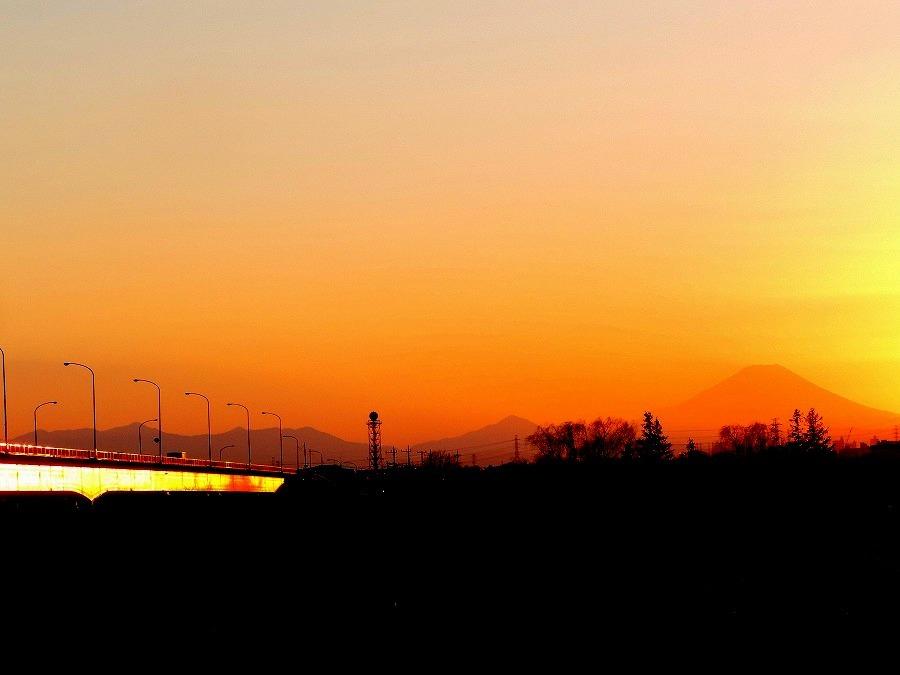 富士山のある夕景_c0187781_21363197.jpg