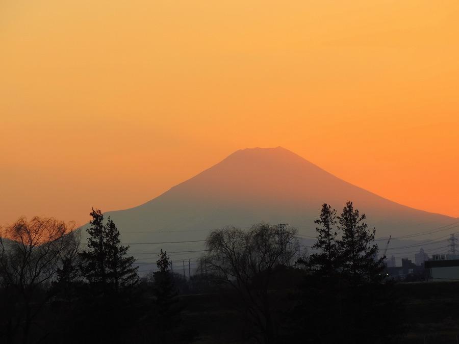 富士山のある夕景_c0187781_21370473.jpg