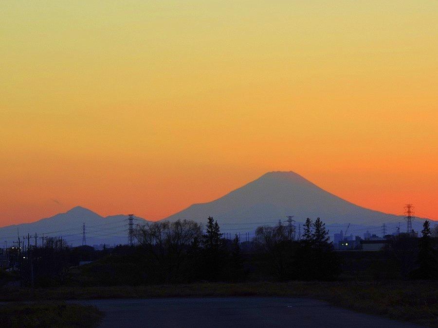 富士山のある夕景_c0187781_21403805.jpg