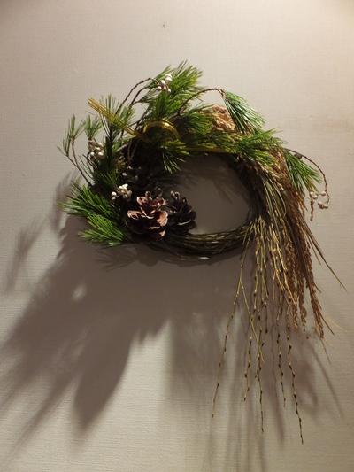 オークリーフ(今年のお正月飾り)_f0049672_17364641.jpg
