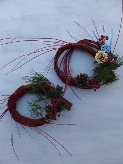 オークリーフ(今年のお正月飾り)_f0049672_17381260.jpg