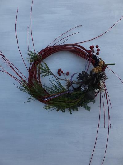 オークリーフ(今年のお正月飾り)_f0049672_174011100.jpg