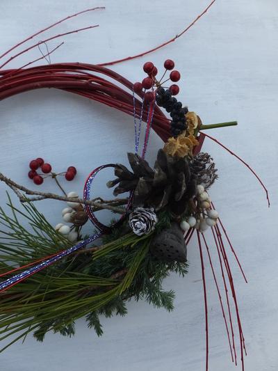 オークリーフ(今年のお正月飾り)_f0049672_17401715.jpg