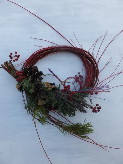 オークリーフ(今年のお正月飾り)_f0049672_1740420.jpg