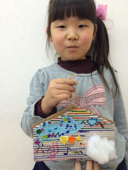 絵馬作り〜松井山手教室_f0215199_19123263.jpg