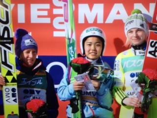 女子スキージャンプ ワールドカ...
