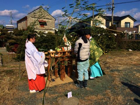 寺島 Iさんの家 ★地鎮祭_d0205883_14293980.jpg