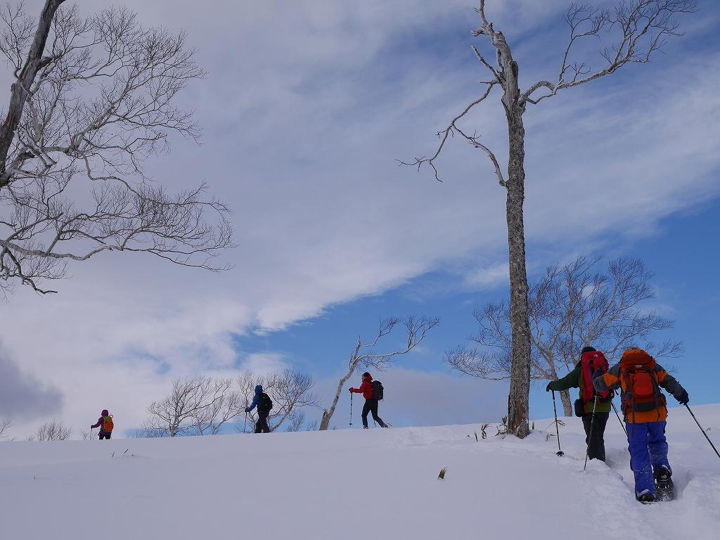 紋別岳と748mP、1月11日-速報版-_f0138096_1542757.jpg