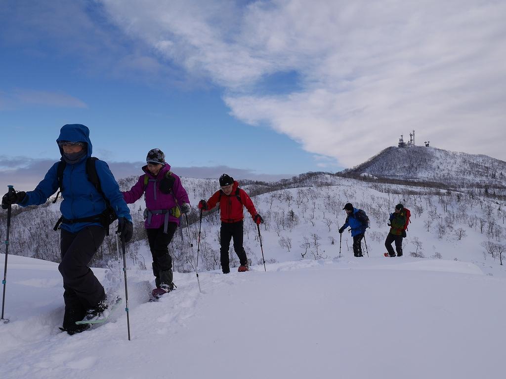 紋別岳と748mP、1月11日-速報版-_f0138096_1543543.jpg