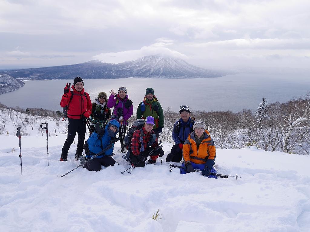 紋別岳と748mP、1月11日-速報版-_f0138096_154471.jpg
