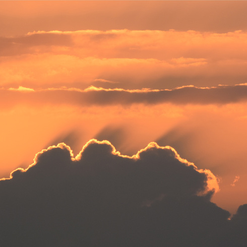 休日の朝早く日の出と...。_f0099102_1592253.jpg