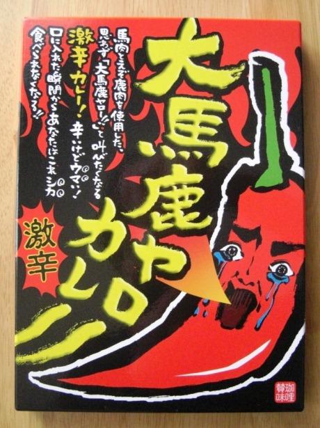 ウメダカレーコレクションの遺産~その2:大馬鹿野郎カレー~_b0081121_8335871.jpg