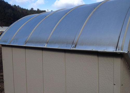 大雪で壊れた屋根を修復_c0061727_8321036.jpg