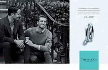 『ゲイのカップルをターゲットに』 / ティファニー広告_b0003330_19373810.jpg