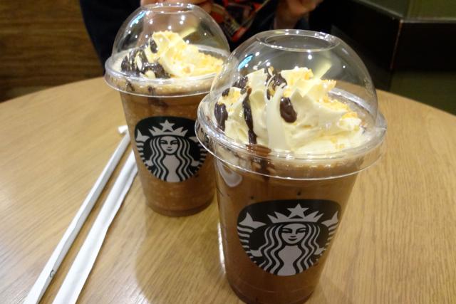 *スタバ* 〜チョコレート オランジュ モカ〜_f0348831_22434603.jpg