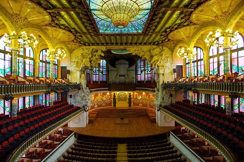 スペイン旅行記 20  バルセロナのモデルニスモ建築_a0092659_1629413.jpg