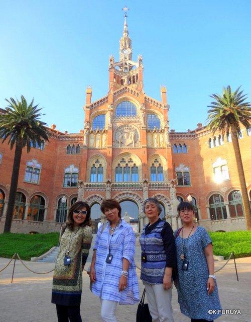 スペイン旅行記 20  バルセロナのモデルニスモ建築_a0092659_16363192.jpg