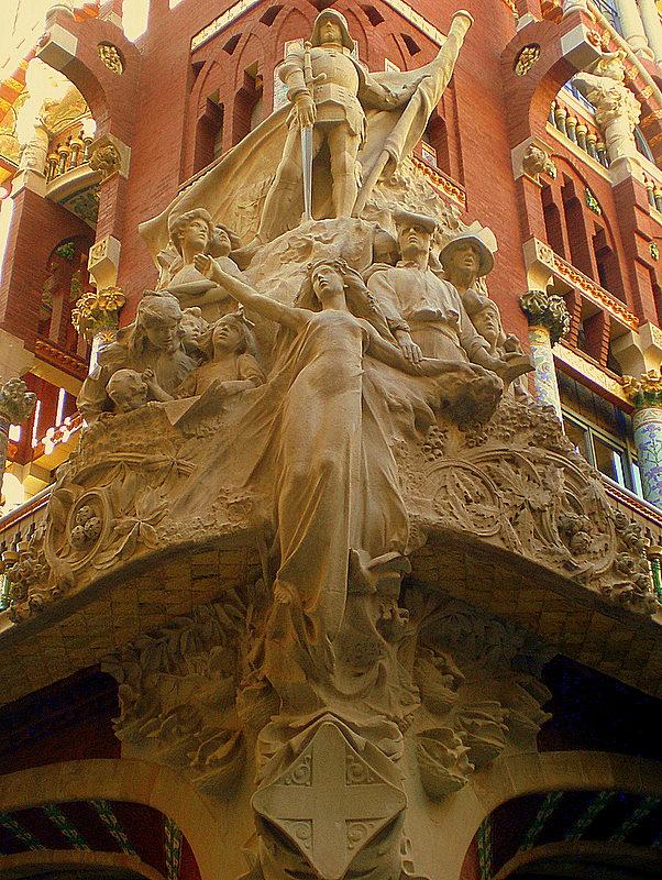 スペイン旅行記 20  バルセロナのモデルニスモ建築_a0092659_16403039.jpg