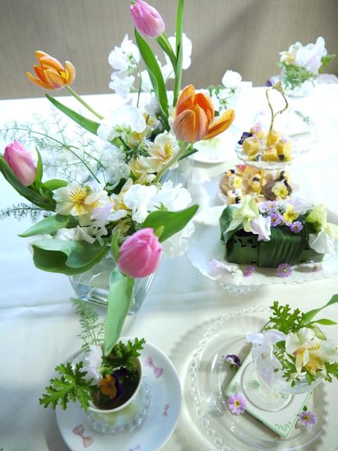 春のアレンジメント_e0086864_21463322.jpg