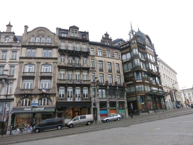 ブリュッセル市街、王宮など_e0233674_11542038.jpg